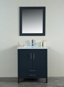"Mackenzie 30"" Bathroom Vanity Grey"
