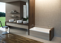 Mirolin Amalfi Alcove Baths 60""
