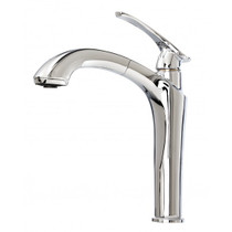 KALIA NAJA SURFER KITCHEN FAUCET WITH PULLOUT DUAL SPRAY-CHROME