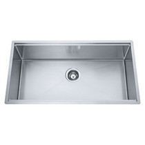 FRANKE PSX110-33 PROFESSIONAL 1 BOWL UNDERMOUNT SINK - STAINLESS STEEL