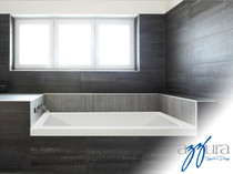 "Mirolin Aura Soaker 60"" Tub Right Hand"