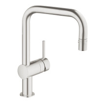 Grohe Minta Single-Handle Kitchen Faucet SuperSteel