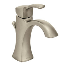 Moen Voss One-Handle High Arc Bathroom Faucet Brushed Nickel Finish