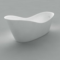 "Acritec Justina 66"" Freestanding Bathtub"