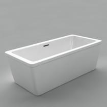 "Acritec Daphne 67"" Freestanding Bathtub"