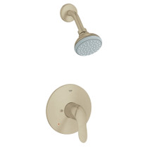 Grohe Agira Shower Brushed Nickel Finish Trim & Valve Complete