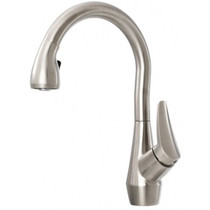 Kalia NERIS DIVER Pull-down Spray Kitchen Faucet Stainless Steel Finish