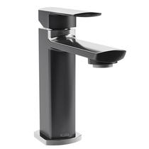 Kalia Grafik Single Hole Lavatory Faucet Black and Chrome Finish