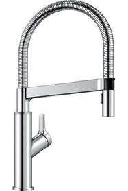 BLANCO Solenta Senso Polished Chrome 1-Handle Pull-down Kitchen Faucet