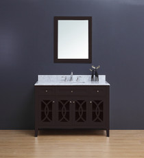 "Casa 48"" Espresso Single Sink Bathroom Vanity"