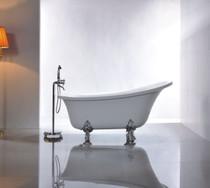 """Denison 63"""" Claw Foot Free Standing Bath Tub"""
