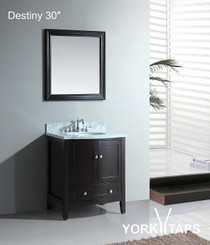 "Destiny 30"" Bathroom Vanity Espresso"