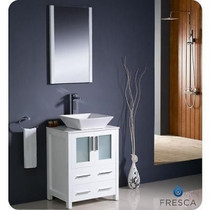 Vaughn 24 Bathroom Vanity White