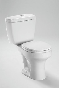 Rowan™ Two-Piece Toilet, 1.6 GPF & 1.0 GPF, Elongated Bowl