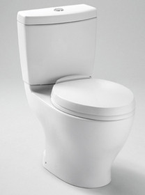 Toto Aquia  II Close Coupled Toilet, 1.6GPF & 0.9GPF
