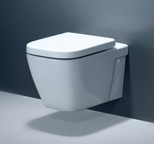 Caroma Invisi Series II Cube Wall Mount Toilet