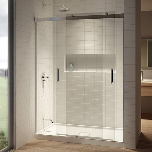 Kalia AKCESS 2 sliding panel shower door 60''x77''
