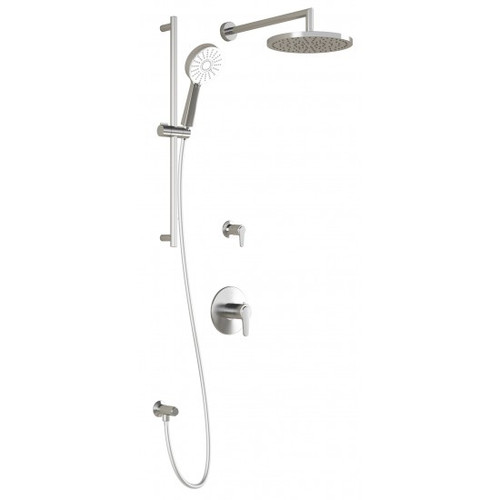 Kalia Kontour 2 Way Thermostatic Shower System Chrome BF1432-110
