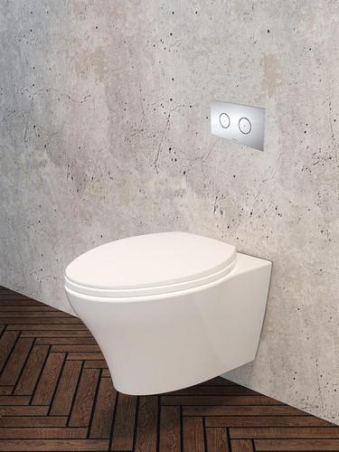 Caroma Somerton Invisi Series II Wall Mount Toilet