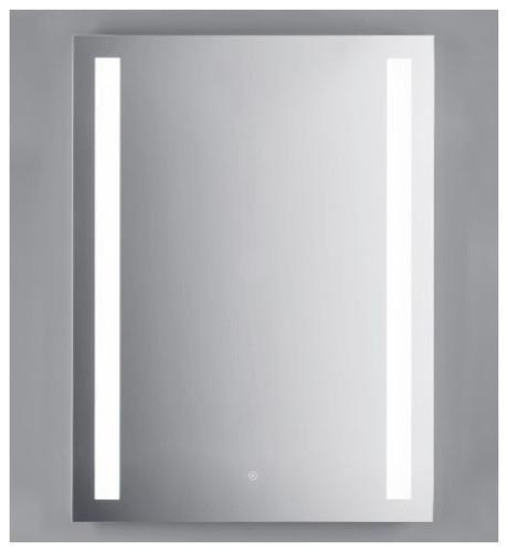 "Accent Trilia Illuminated LED Anti Fog Mirror 35.5"" x 27.5"""