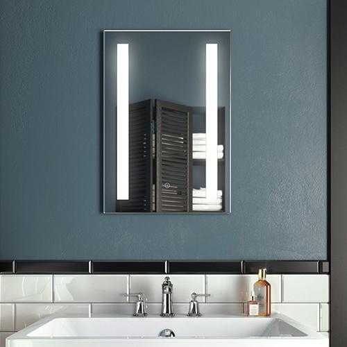 Brilia Illuminated LED Anti Fog Mirror 18'' X 26''