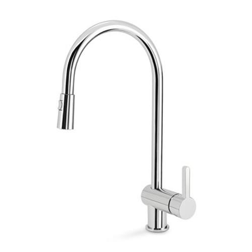 Blanco 401460 Rita Single Hole Pullout Spray Kitchen Faucet SOP1423 ...