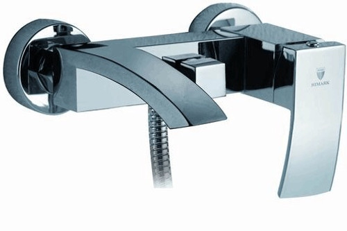 Royal Fall Wall Mount Tub Faucet with Handshower