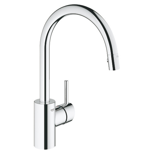 com kitchen pullout moen handle faucet chrome one dp amazon l