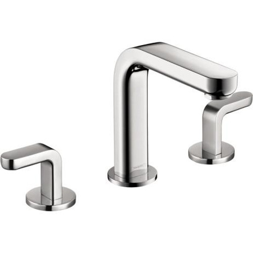 Hansgrohe Metris S Widespread Faucet with Lever Handles Chrome ...