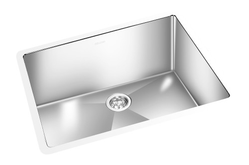 "GEM KITCHEN ROUND CORNER SINK UNDERMOUNT 21"" x 18"""