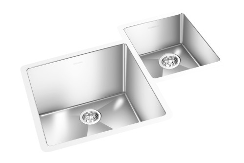 "GEM KITCHEN ROUND CORNER SINK UNDERMOUNT 35"" x 21"""