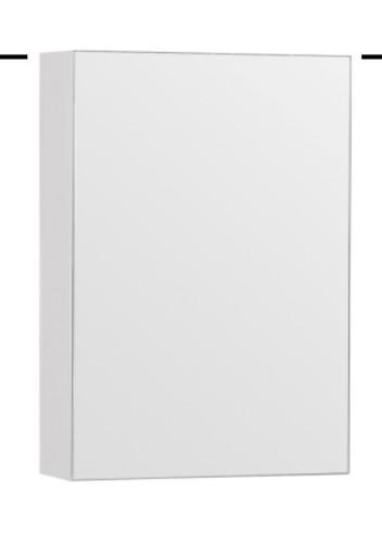 """24"""" Medicine Cabinet Mirror White/ Espresso"""