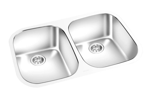 GEM KITCHEN DOUBLE SINK UNDERMOUNT 30⅝ x 18""