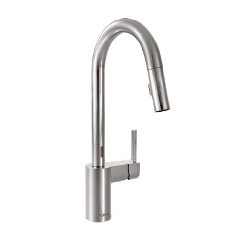 Moen Align One Handle High Arc Pulldown Kitchen Faucet Chrome Finish