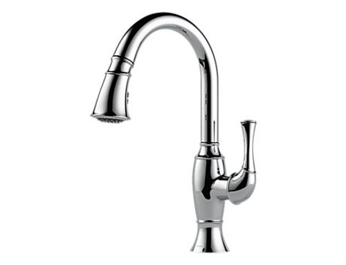 Brizo Talo single handle pull-down kitchen faucet