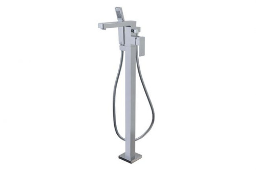 Aqua Brass Madison Tub Filler with handshower