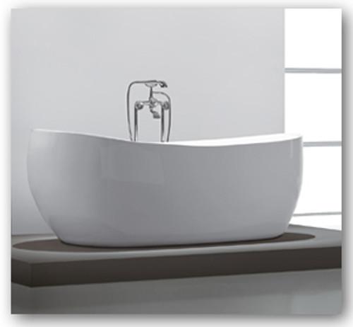 """Aqua Vida 59"""" Free Standing Soaker Bath Tub"""