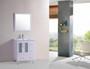 """Luxe 36"""" Bathroom Vanity White"""