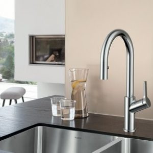 mount handle wall kitchen standard faucet kitchens arc faucets high heritage chrome american