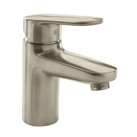 Grohe Europlus SingleHandle Bathroom Faucet SSize Brushed Nickel - Nickel finish bathroom faucets