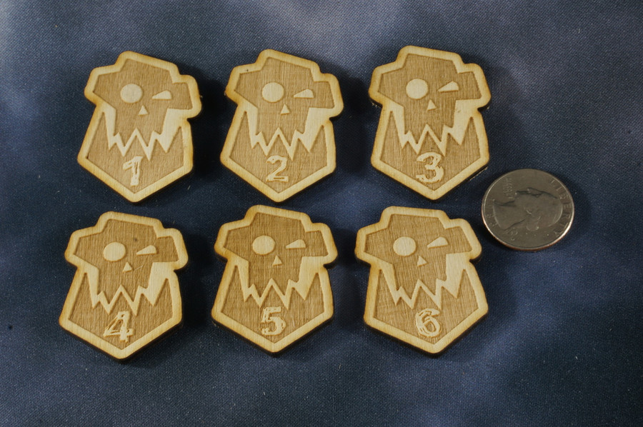 Objective Markers - O