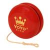 Yoyo King Personalized Custom Wooden Yoyo Red