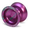 Recess Diplomat Yoyo Purple with Green Splash