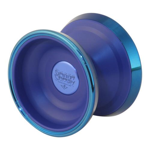 C3 Gamma Crash Yoyo Blue with blue rings
