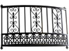 MEXICAN SCROLL BALCONY without platform, faux