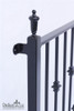 IRON KNUCKLE BALCONY without platform, faux