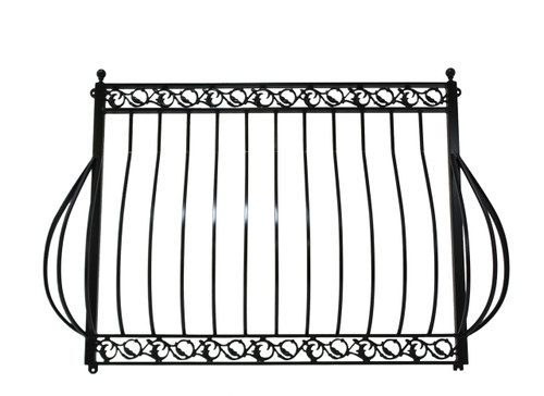 IRON DOVE QUEEN BALCONY without platform, faux