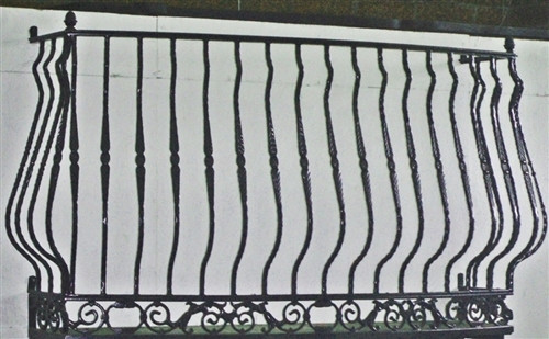 IRON LADY BAROQUE BALCONY without platform, faux