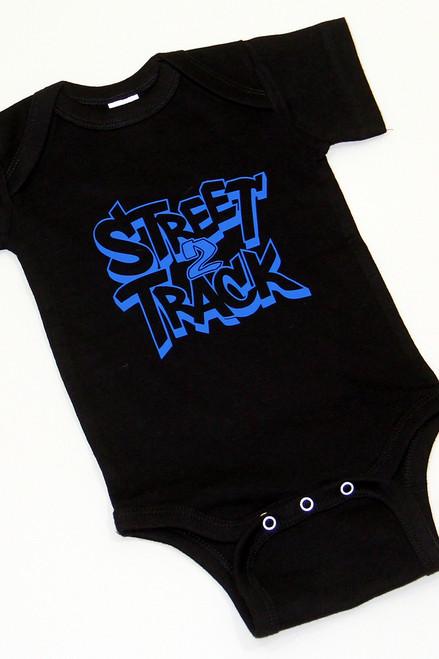 Street2Track Black / Blue Onesies