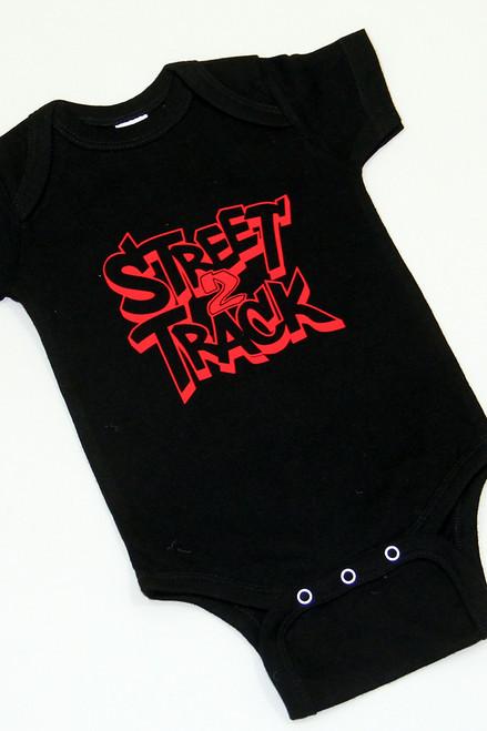 Street2Track Black / Red Onesies